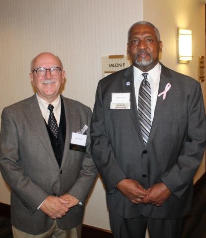 Max Adams and Trailblazer Award Chair Willie Rowe