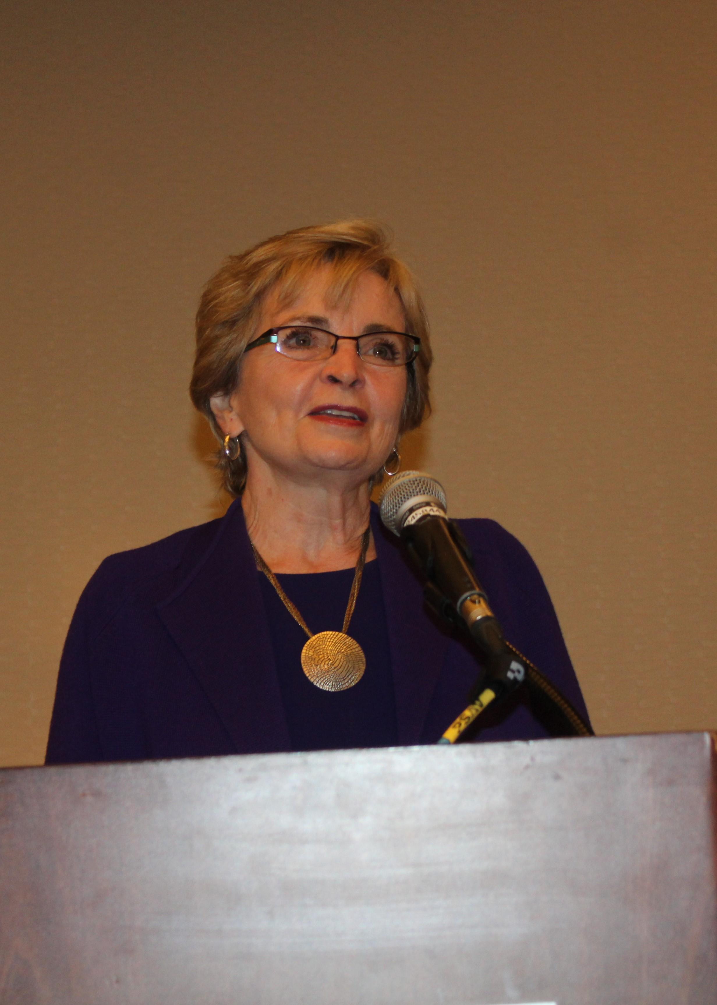 Former Superintendent of Public Instruction June Atkinson