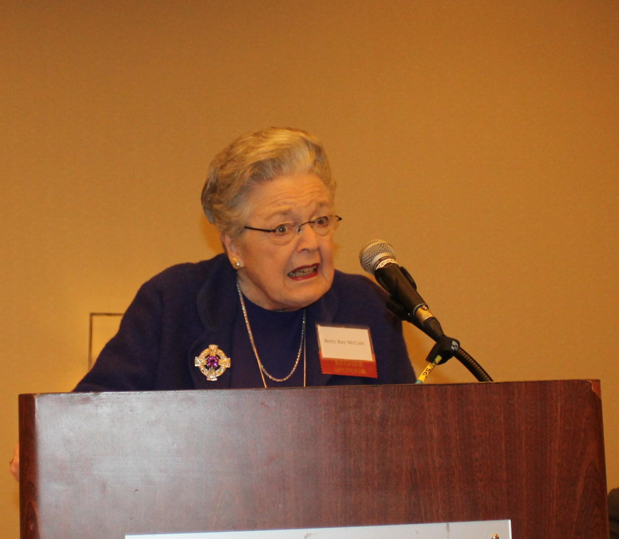 Betty Ray McCain